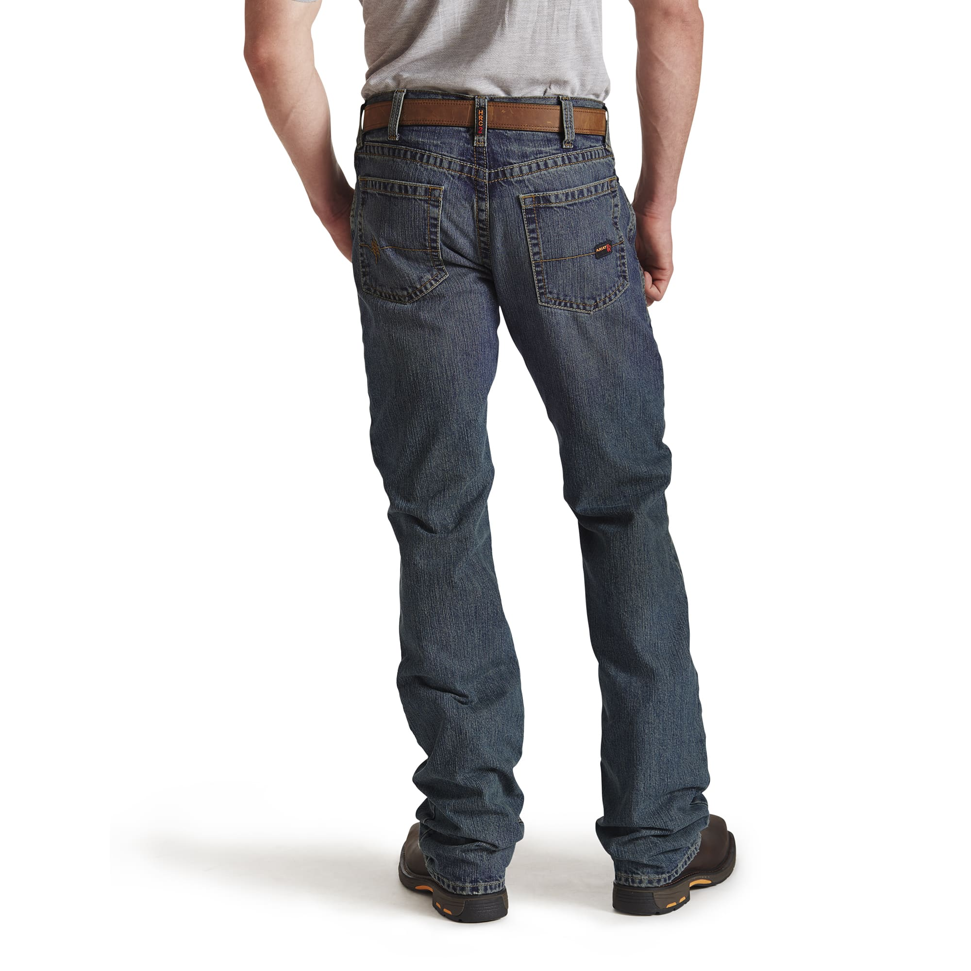 4949ebcf91a ... Ariat FR M5 Shale Slim Fit Men s Straight Leg ...