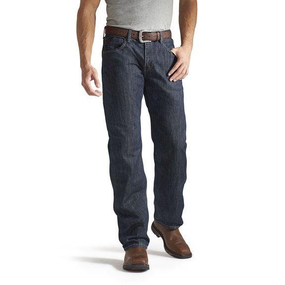 Ariat Flame Retardant M3 Shale Loose Fit Straight Leg Jean