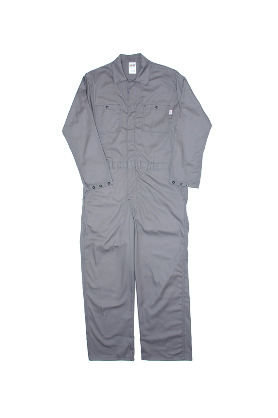 Lapco 7oz FR Gray Economy Cotton Coverall