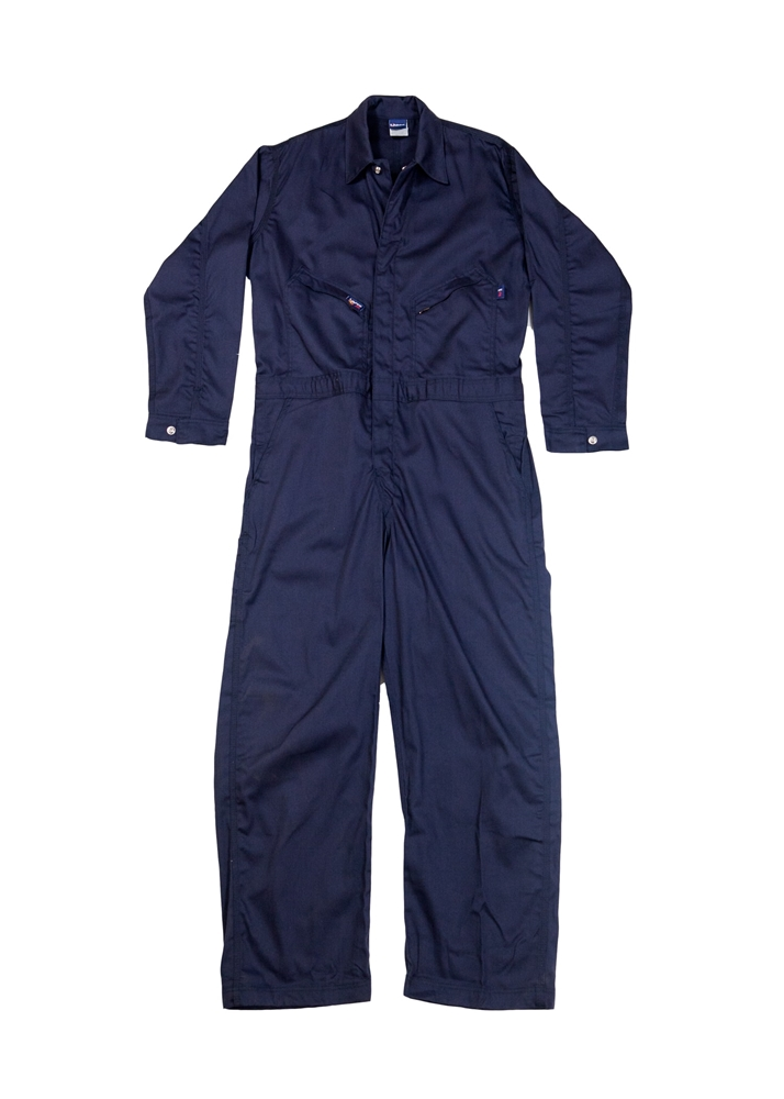 1be226c866d1 Lapco 7oz Fire Resistant Navy Deluxe Contractor Coverall