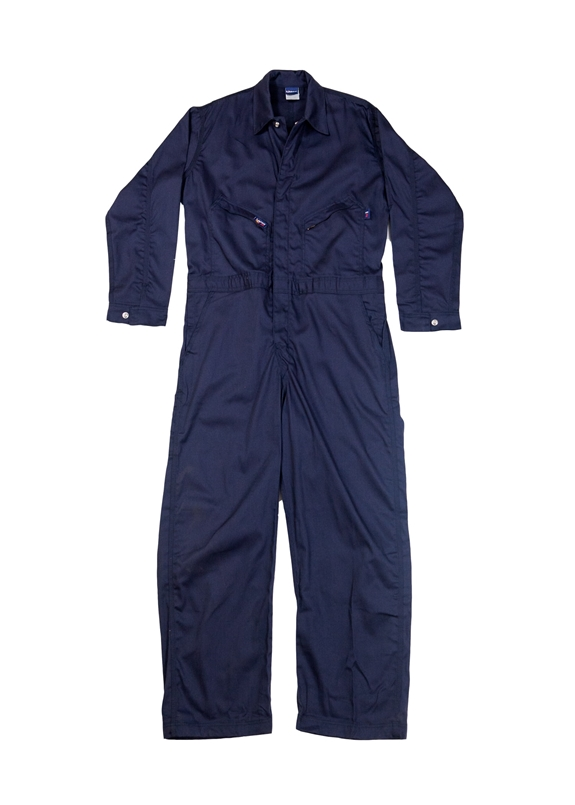 Lapco 7oz Fire Resistant Navy Deluxe Contractor Coverall