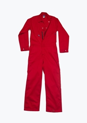 Lapco 7oz Fire Retardant Red Deluxe Coverall