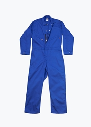 Lapco 7oz FR Royal Blue Deluxe Contractor Coverall