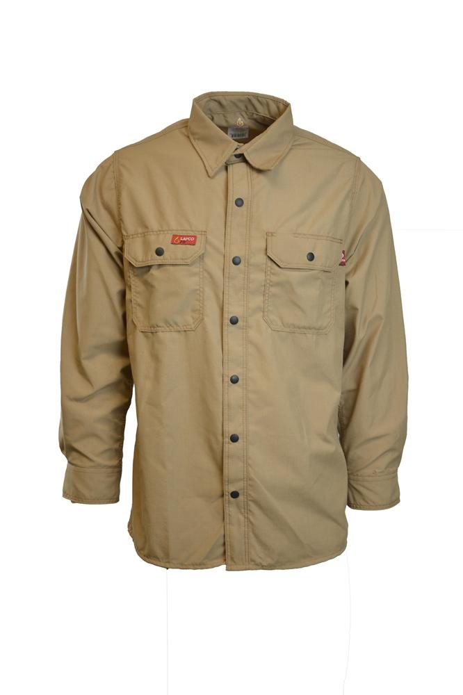 23977ed057f3 Men s Lapco FR Khaki GlenGuard Shirt