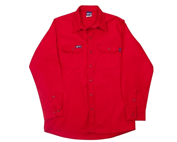 Lapco FR 7 oz. Red Uniform Shirt