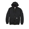 Rasco FR 10 Ounce Black Hooded Men's Sweatshirt