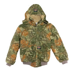 Rasco FRC Mens Hooded Jacket - Cajun Camo