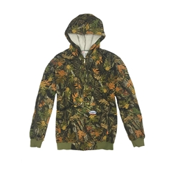 Rasco Fire Retardant 10 oz Woodland Camo Hooded Sweatshirt