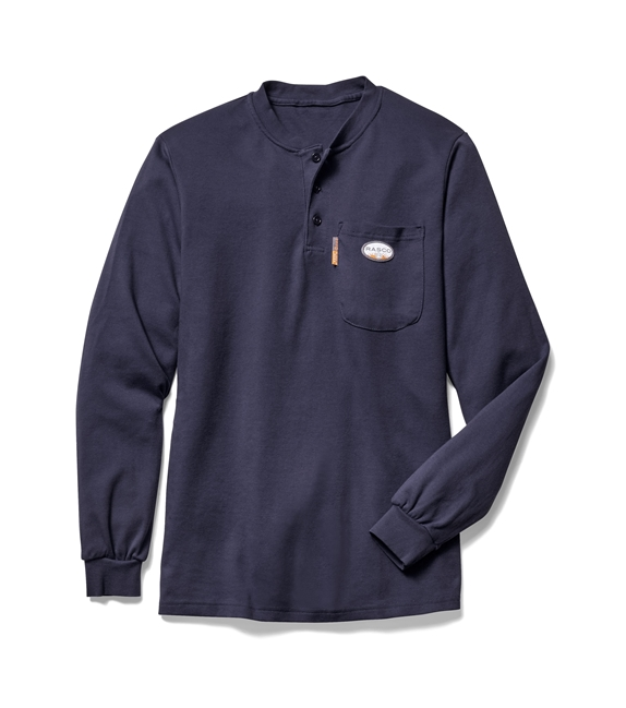 Rasco FRC Navy Henley T-Shirt