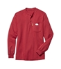 Rasco Fire Retardant Red Henley T-Shirt