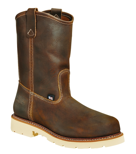"Thorogood Men's American Heritage 11"" Wellington Steel Toe"