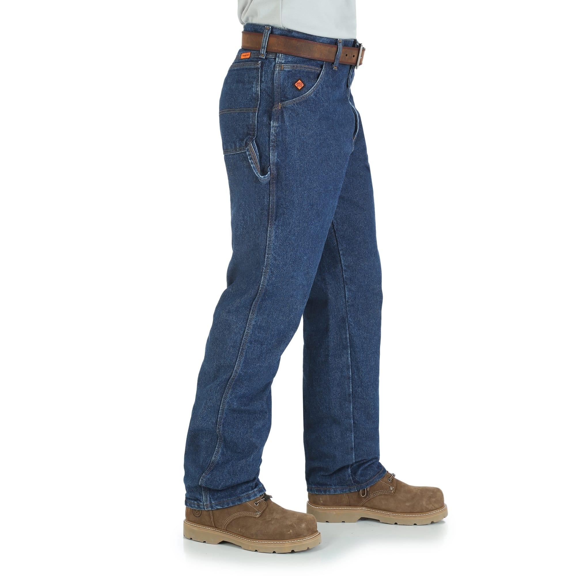 Men S Carpenter Fr Blue Jeans Wrangler Fr3w020