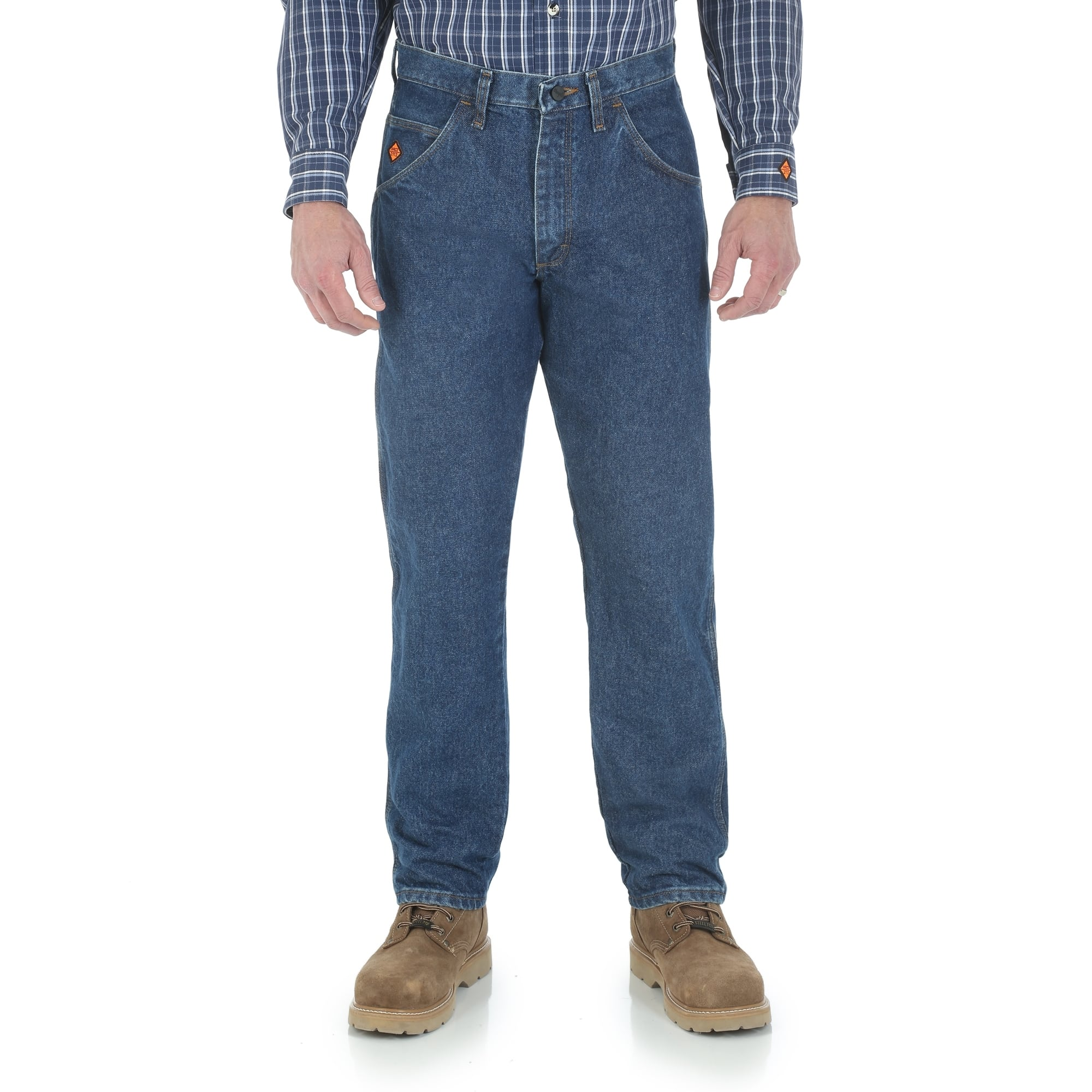 521c772f9dc4 Wrangler Riggs Workwear Men s FR Relaxed Fit Jeans ...