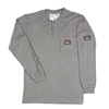 Rasco Fire Resistant Gray Henley T-Shirt