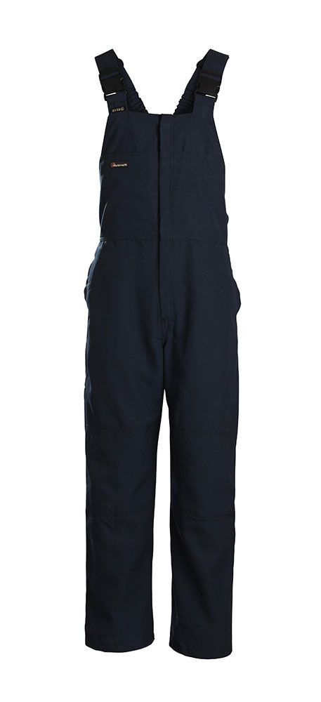 Workrite 7 oz. Ultrasoft Navy Bib Overall